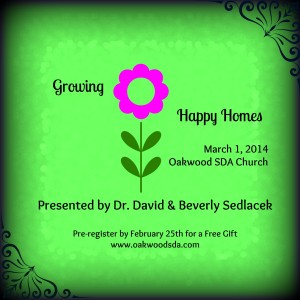 Growing Happy Homes @ Oakwood Seventh-day Adventist Church | Taylor | Michigan | United States