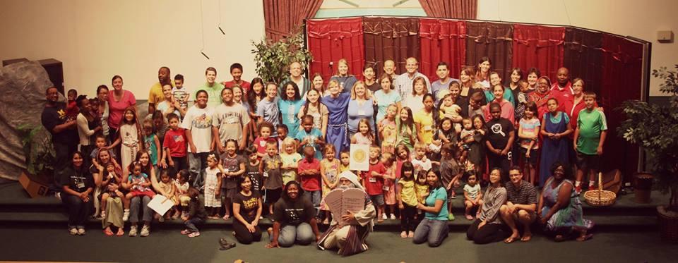 vbs kids and volunteers