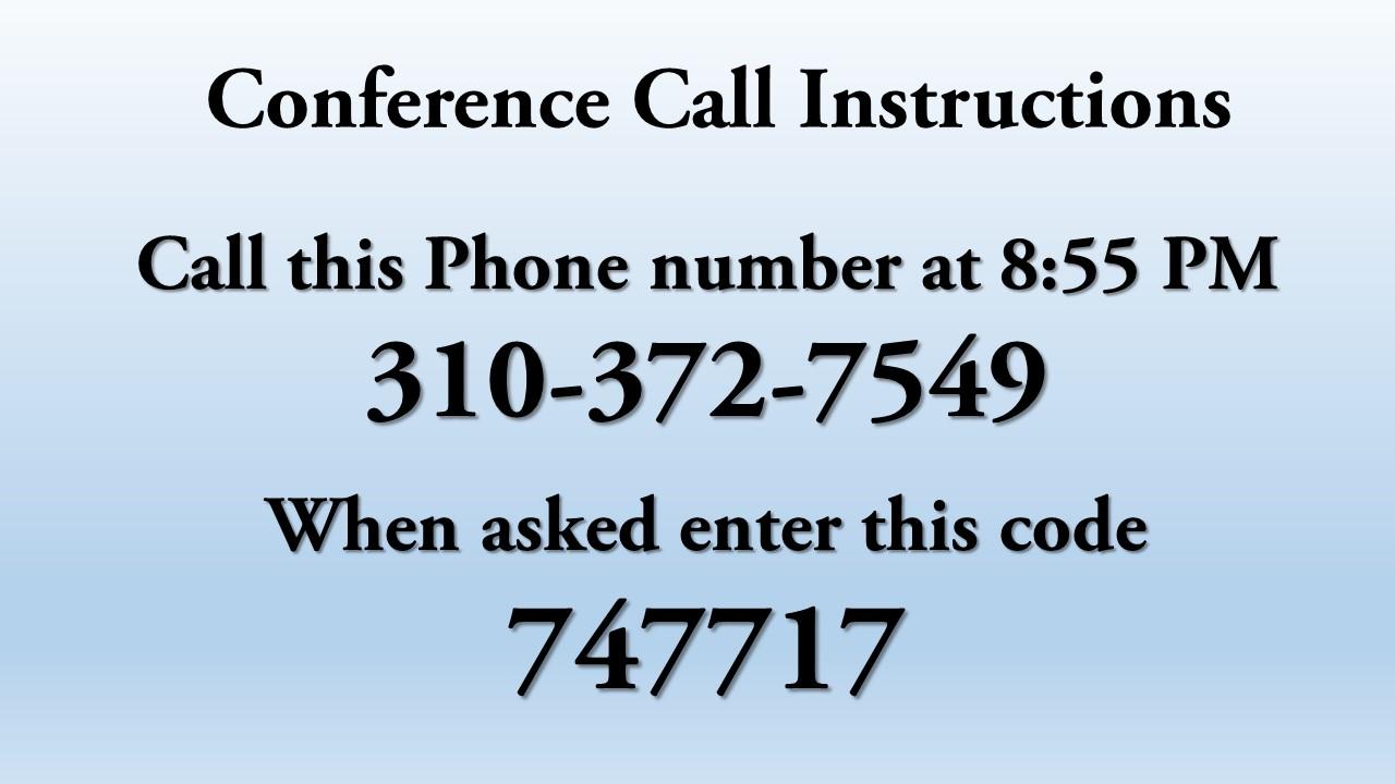 daniel's week of prayer conference call instructions jpeg